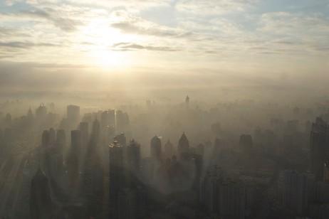 Shanghai smog, image by BriYYZ